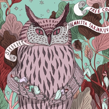 Kuti magazine #36, cover illustration.